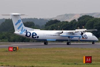 G-ECOV - Flybe de Havilland Canada DHC-8-400Q / Bombardier Q400