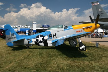 N3451D - Private North American P-51D Mustang