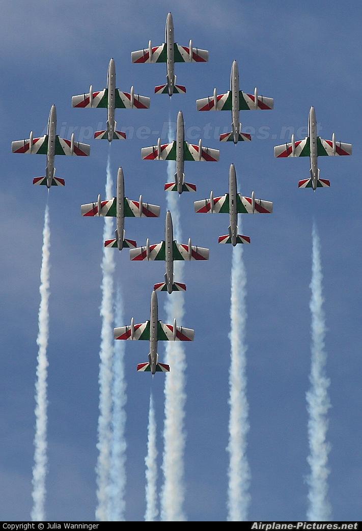 """Italy - Air Force """"Frecce Tricolori"""" - aircraft at Kecskemét"""