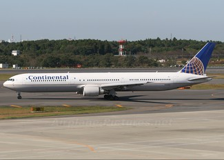 N69063 - Continental Airlines Boeing 767-400ER