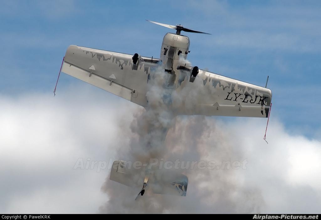 Private LY-LJK aircraft at Mielec