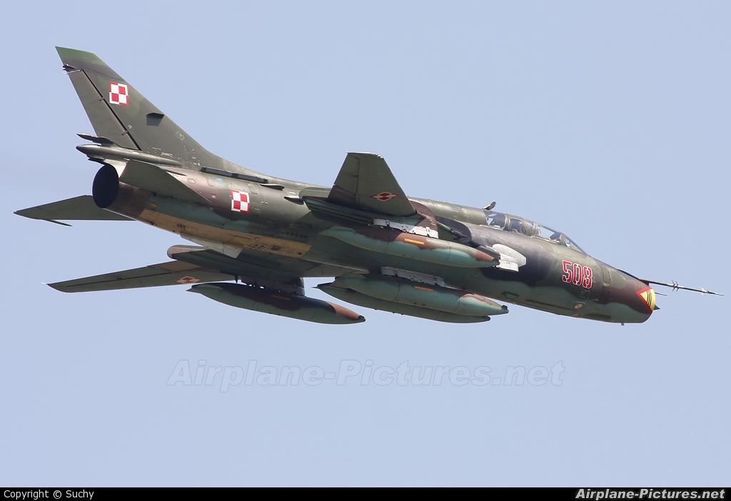 Poland - Air Force 508 aircraft at Kecskemét