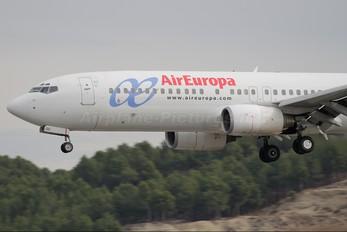 EC-HGO - Air Europa Boeing 737-800