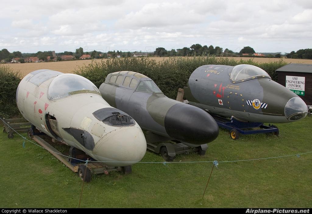 Royal Air Force WM267 aircraft at Norwich