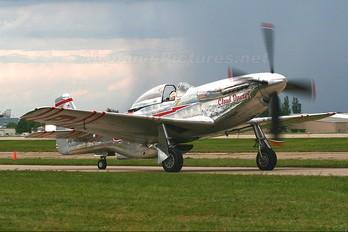 NL55JL - Private North American P-51D Mustang