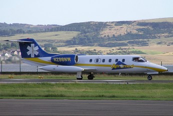 N298NW - Aeromed Learjet 35