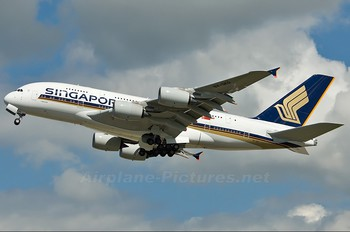 9V-SKD - Singapore Airlines Airbus A380