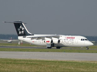 HB-IYU - Swiss British Aerospace BAe 146-300/Avro RJ100
