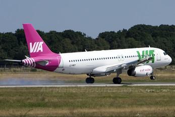 LZ-MDT - Air Via Airbus A320