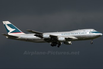 B-HVX - Cathay Pacific Cargo Boeing 747-200F