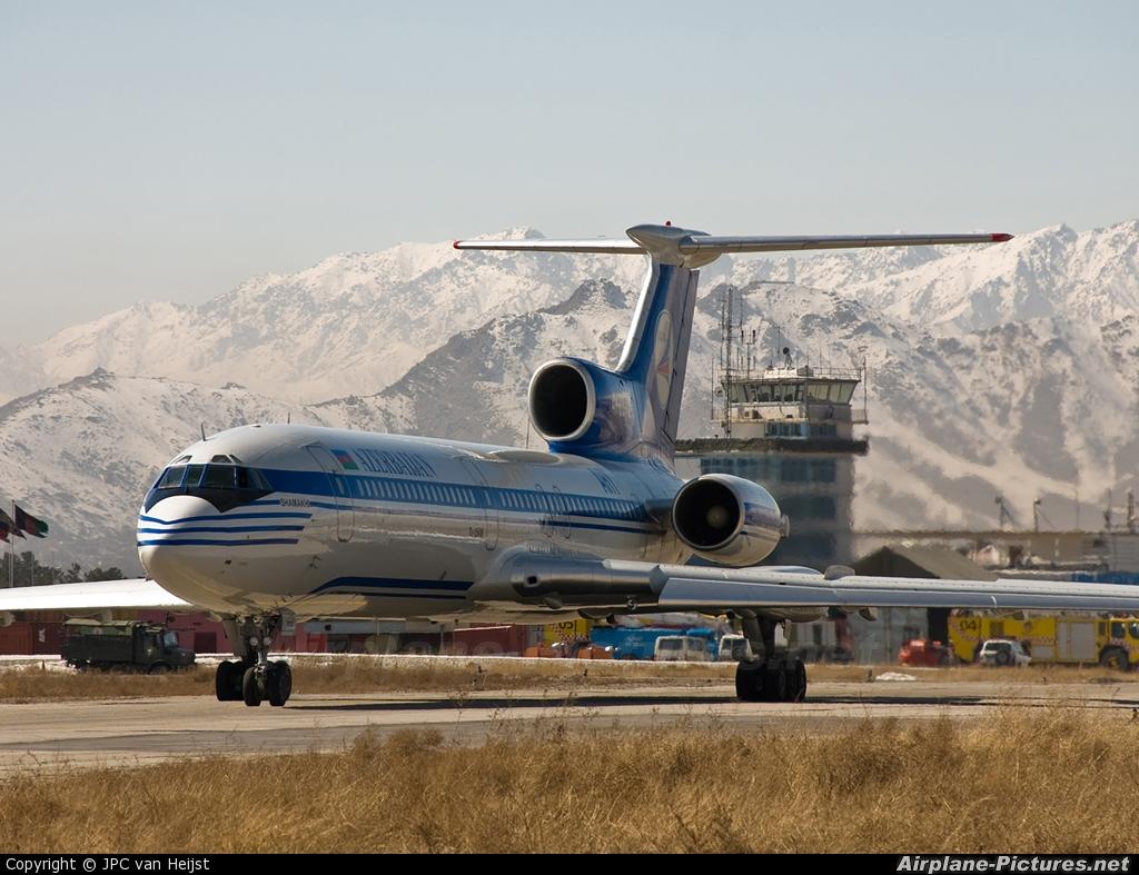 Azerbaijan Airlines 4K-85729 aircraft at Kabul