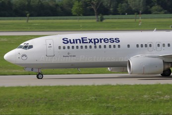 TC-SUO - SunExpress Boeing 737-800