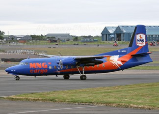 TC-MBH - MNG Cargo Fokker F27