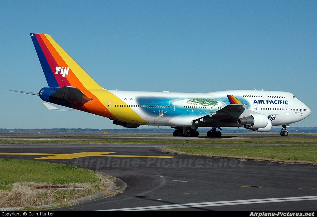dq fjl air pacific boeing 747 400 at auckland intl photo id 20856 airplane. Black Bedroom Furniture Sets. Home Design Ideas