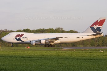 G-MKCA - MK Airlines Boeing 747-200F
