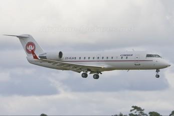 OY-RJH - Cimber Air Canadair CL-600 CRJ-100