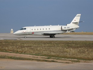 HB-JEB - TAG Aviation Israel IAI 1126 Gulfstream G200