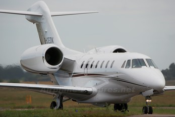 G-CEDK - Private Cessna 750 Citation X