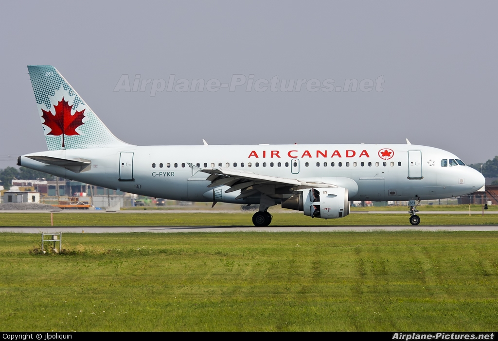 Air Canada C-FYKR aircraft at Montreal - Pierre Elliott Trudeau Intl, QC