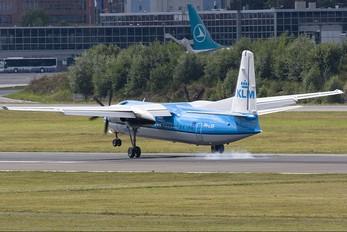 PH-LXR - KLM Cityhopper Fokker 50
