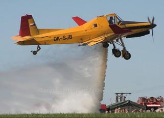 OK-SJB - Aero Slovakia Zlín Aircraft Z-137T Turbočmelák