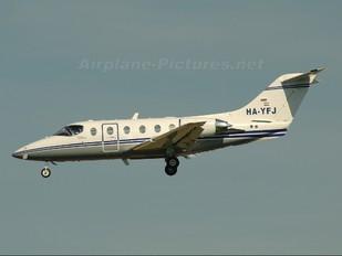 HA-YFJ - Pannon Air Service Hawker Beechcraft 400A Beechjet