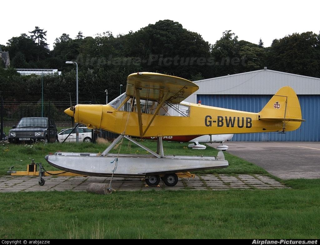 Caledonian Seaplanes G-BWUB aircraft at Dundee