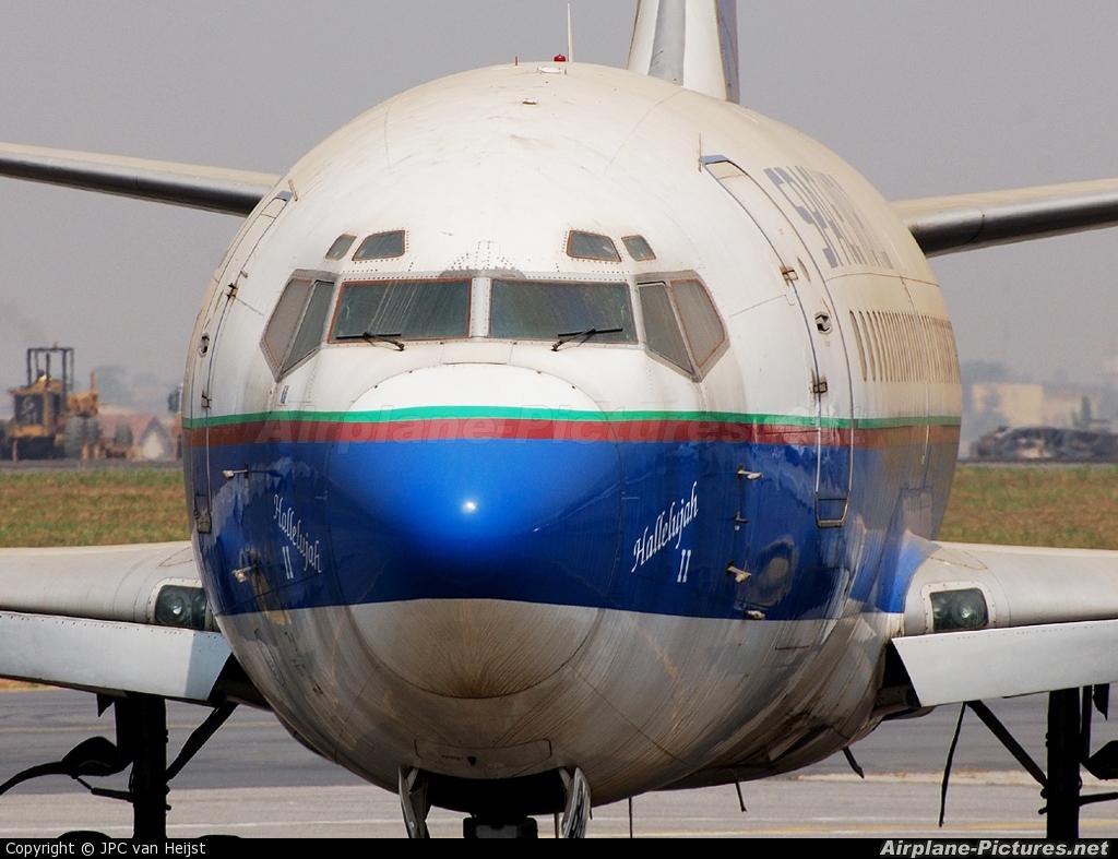 Space World Airlines 5N-BGB aircraft at Lagos - Murtala Muhammed