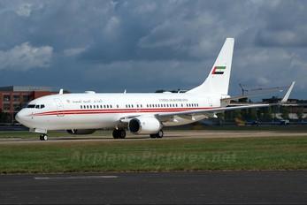 A6-HEH - United Arab Emirates - Government Boeing 737-800 BBJ