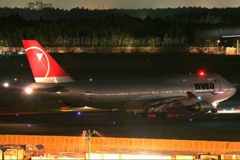 N661US - Northwest Airlines Boeing 747-400