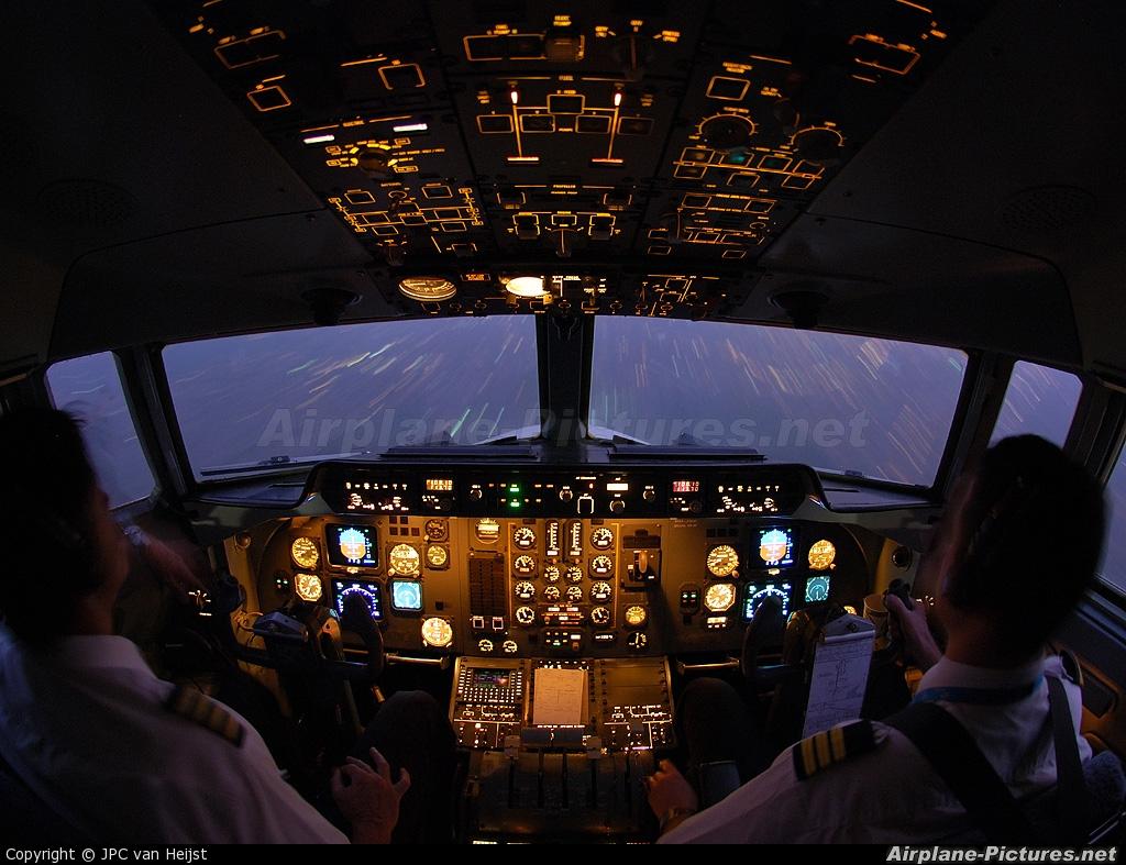 Denim Air PH-JXK aircraft at Lagos - Murtala Muhammed