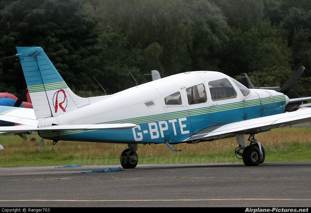 Redhill Aviation G-BPTE aircraft at Blackbushe
