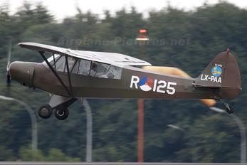 LX-PAA - Private Piper PA-18 Super Cub