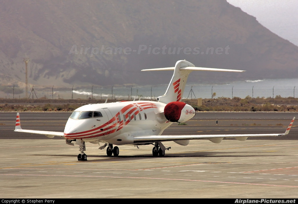 International Jet Management OE-HPZ aircraft at Tenerife Sur - Reina Sofia