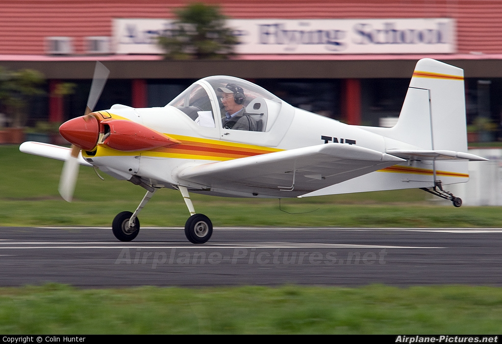 Private ZK-TNT aircraft at Ardmore