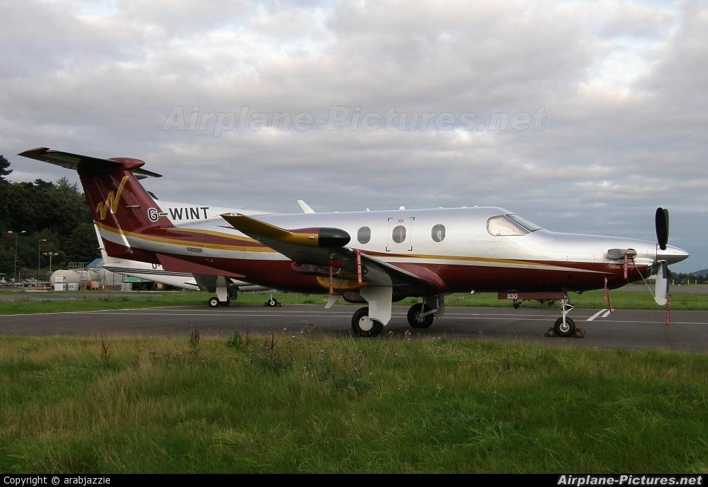 Air Winton G-WINT aircraft at Dundee