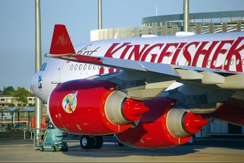 F-WWTL - Kingfisher Airlines Airbus A340-500