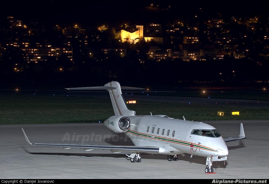 International Jet Management OE-HNL aircraft at Innsbruck