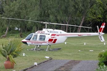 3B-NZF - Air Mauritius Bell 206B Jetranger III