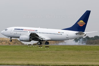 D-HAIB - Hamburg International Boeing 737-700