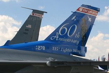 87-0278 - USA - Air National Guard General Dynamics F-16C Fighting Falcon