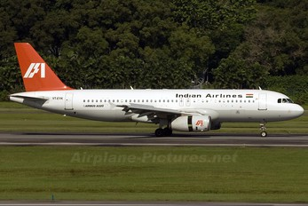 VT-EYK - Indian Airlines Airbus A320