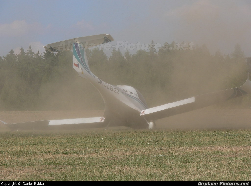 Private OK-JUG 22 aircraft at Kotvrdovice