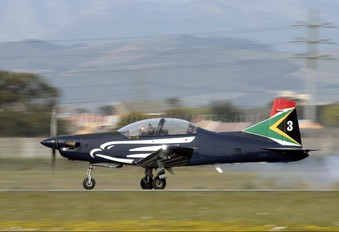 2024 - South Africa - Air Force: Silver Falcons Pilatus PC-7 I & II