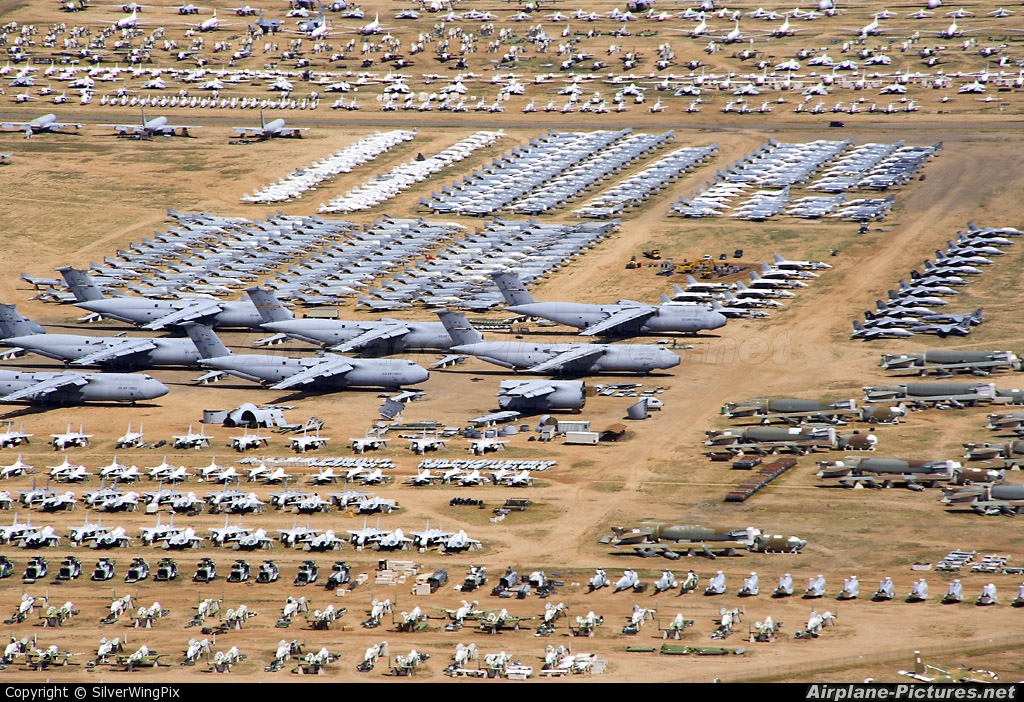 - Airport Overview - aircraft at Davis-Monthan AFB