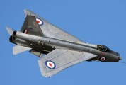 ZU-BEY - Thunder City English Electric Lightning F.6 aircraft