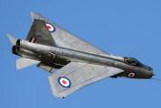 ZU-BEY - Thunder City English Electric Lightning F.6 aircraft