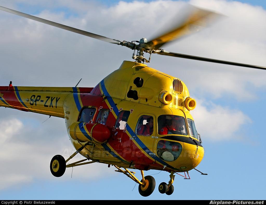 Polish Medical Air Rescue - Lotnicze Pogotowie Ratunkowe SP-ZXY aircraft at Zielona Góra - Przylep