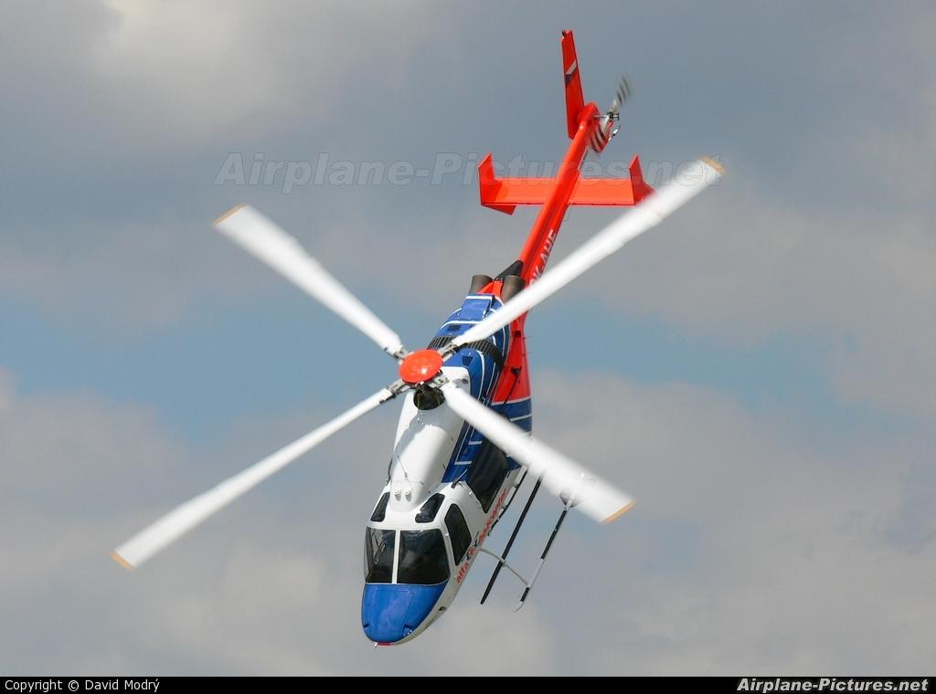 Alfa Helicopter OK-AHE aircraft at Přerov