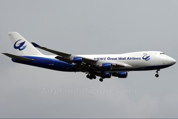 9V-SFI - Great Wall Airlines Boeing 747-400F, ERF